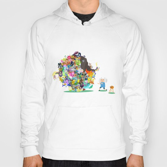 Adventure Time - Land of Ooo Katamari Hoody