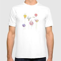 Spring Mens Fitted Tee White SMALL