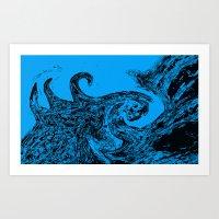 Savage Sea Art Print