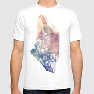 Byzantium Mens Fitted Tee White SMALL