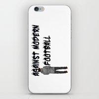 AGAINST MODERN FOOTBALL iPhone & iPod Skin