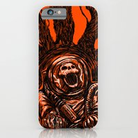 iPhone & iPod Case featuring A Spacesuit Has Been Compromised by Nick Volkert