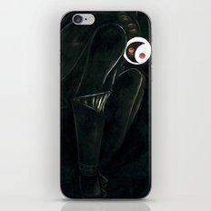 Moonbot #0: Black iPhone & iPod Skin