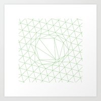 #111 A disruption in the force – Geometry Daily Art Print
