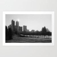 Bellevue Skyline By Morn… Art Print