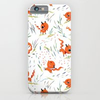 iPhone & iPod Case featuring Fox Tales - The Fox by Cat Ho