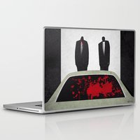 pulp fiction Laptop & iPad Skins featuring Pulp by Osvaldo Casanova