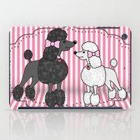 Pretty Poodles iPad Case