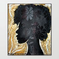 Coco Caramel Canvas Print