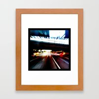 Move Forward Framed Art Print