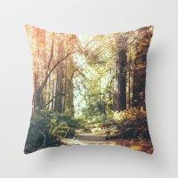 Beautiful California Red… Throw Pillow