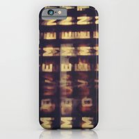 iPhone & iPod Case featuring Movement by MaLuRo