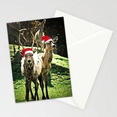 Tis The Season - Reindeer Stationery Cards