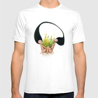 Garden Of Hope Mens Fitted Tee White SMALL