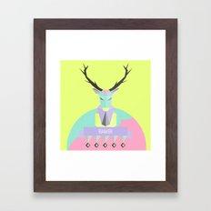 Our lovely pets 1 Framed Art Print