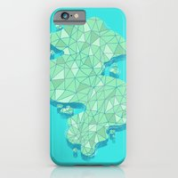 iPhone & iPod Case featuring Land by micheleficeli