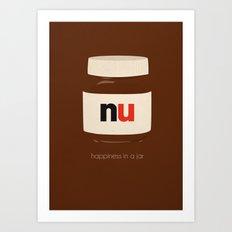 Happiness in a Jar Art Print