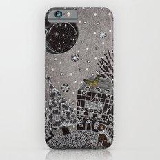 'Twas a Moonlit Winter Night iPhone 6s Slim Case