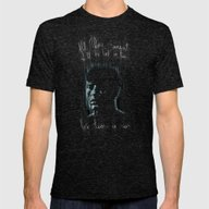 Blade Runner: Roy Batty Mens Fitted Tee Tri-Black SMALL