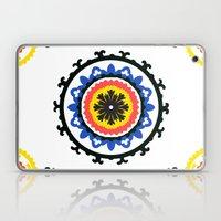 Bold and bright beauty of suzani patterns ver.9 Laptop & iPad Skin