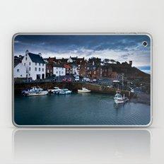Fishing Harbor Laptop & iPad Skin