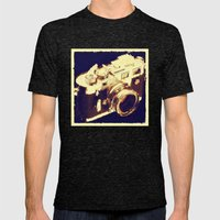 My camera Mens Fitted Tee Tri-Black SMALL