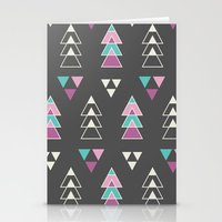 Mystic Triangles Stationery Cards