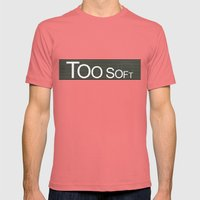 TooSoftTooLoud Mens Fitted Tee Pomegranate SMALL