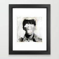 Faceless | Number 02 Framed Art Print