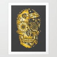 C3P GOLD Art Print