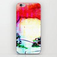 sunset Mountain iPhone & iPod Skin