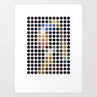 Vermeer Remixed Art Print