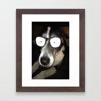 Mr. Cool Framed Art Print