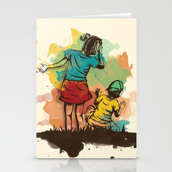 Hide & Seek Part 2 Stationery Card
