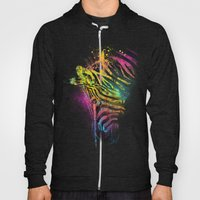 Zebra Mood Technicolor Hoody