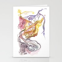 Iceland Abstracted: Krafla Stationery Cards