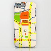 Tel Aviv Map Design - Wr… iPhone 6 Slim Case