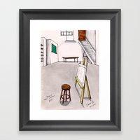 MEMORIES OF MY INNER CHI… Framed Art Print