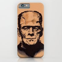 iPhone & iPod Case featuring The Monster by Zombie Rust
