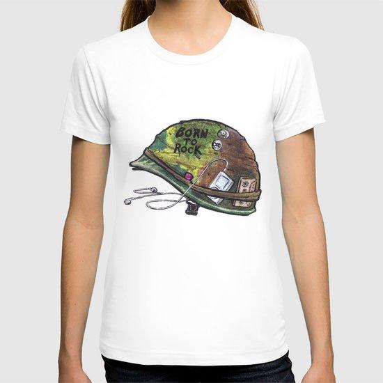 """Born to Rock"" by Cap Blackard T-shirt"