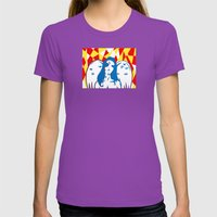 angels Womens Fitted Tee Ultraviolet SMALL