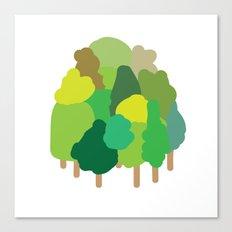 minibosque Canvas Print