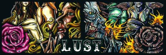 seven deadly sins variation Art Print