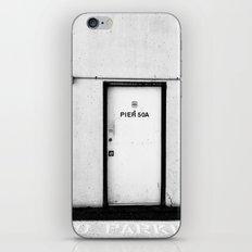 Pier 50A iPhone & iPod Skin