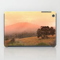 Early Fog In The Hills iPad Case