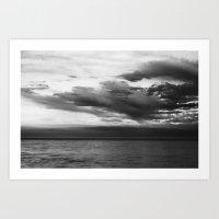 Winterton Storm Art Print