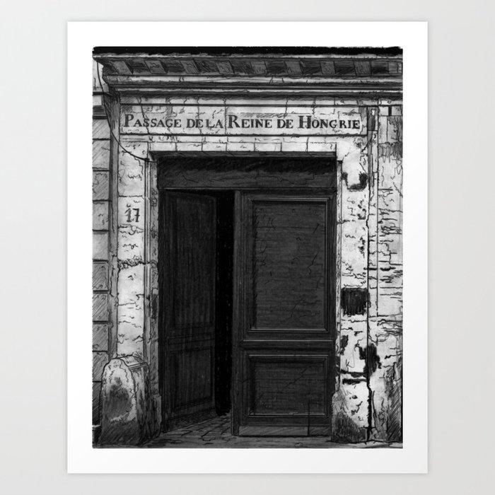 Porte dite du passage de la reine de hongrie paris for Passage porte