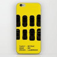 Lamborghini Family iPhone & iPod Skin