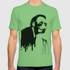 SalvaDog Dalí Mens Fitted Tee Grass SMALL