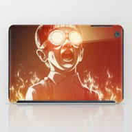 iPad Case featuring FIREEE! by Dr. Lukas Brezak